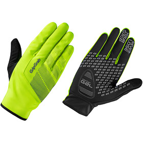 GripGrab Ride Windproof Hi-Vis Gloves Fluo Yellow